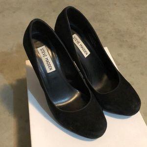 Steve Madden Trinitie round toe platform heels